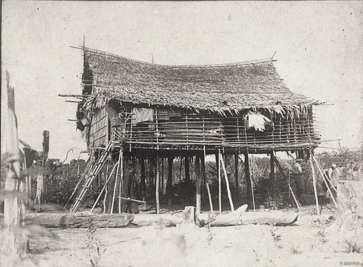 Дом Оскара Иона в Пингере. Суматра