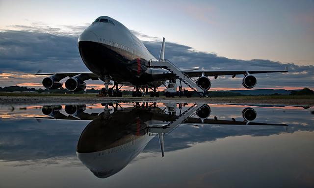 G-BNLY - Boeing 747-436 - EGTD