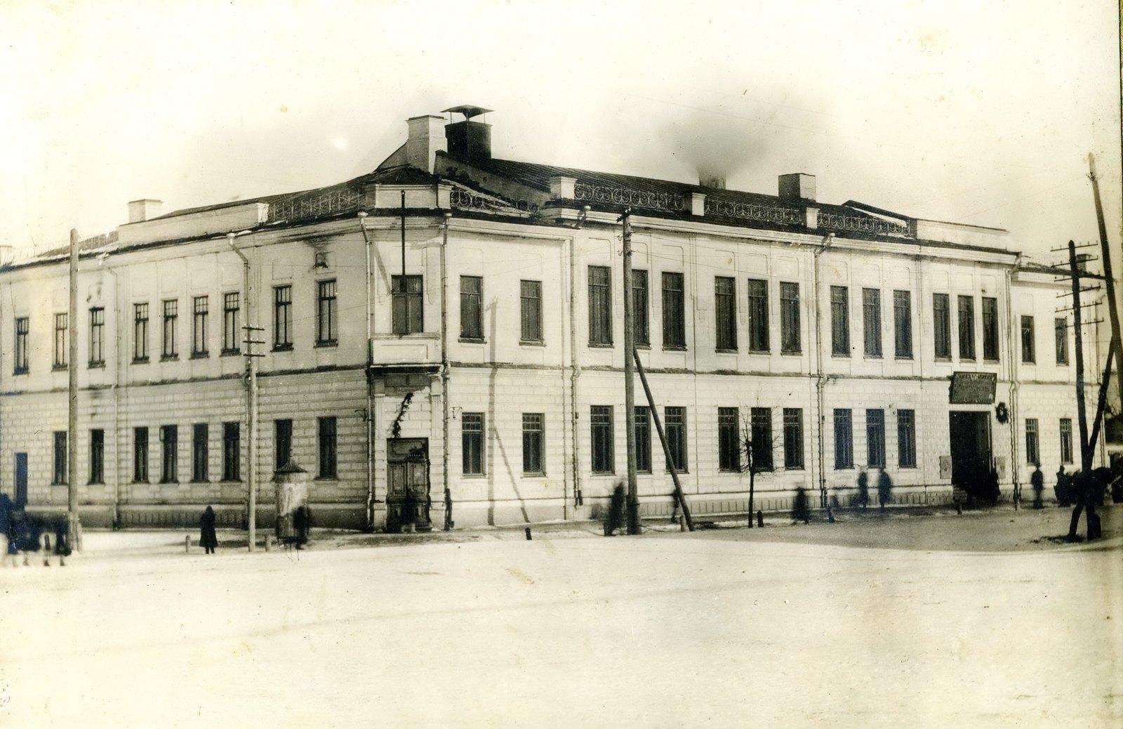 Дом общества взаимного кредита, Здание Дворянского собрания.
