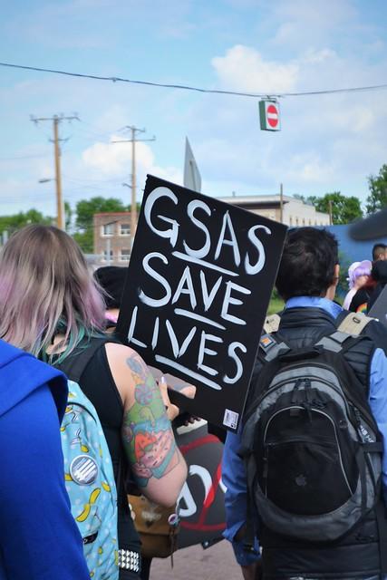 GSAs Save Lives