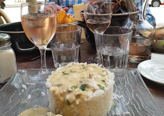 Una comida francesa