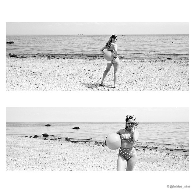 Summertime with lovely model @katiekells