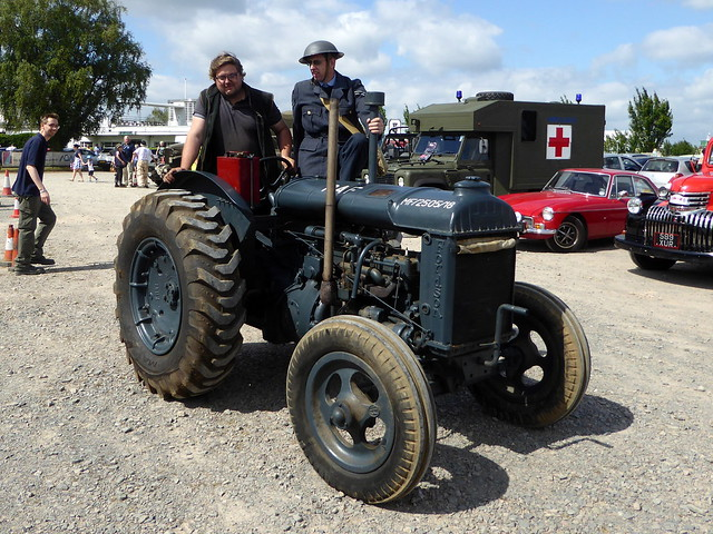 A 1940's Fordson Model N Tractor - Sywell 12Jun21