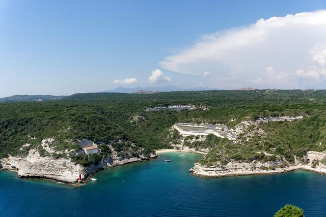 Bonifacio white cliffs