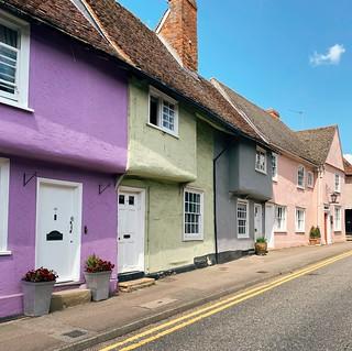 Coloured Cottage Saffron Walden