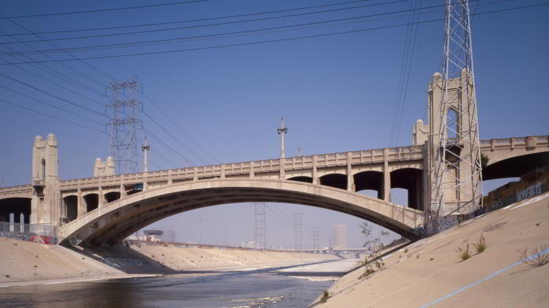 4th Street Bridge LA