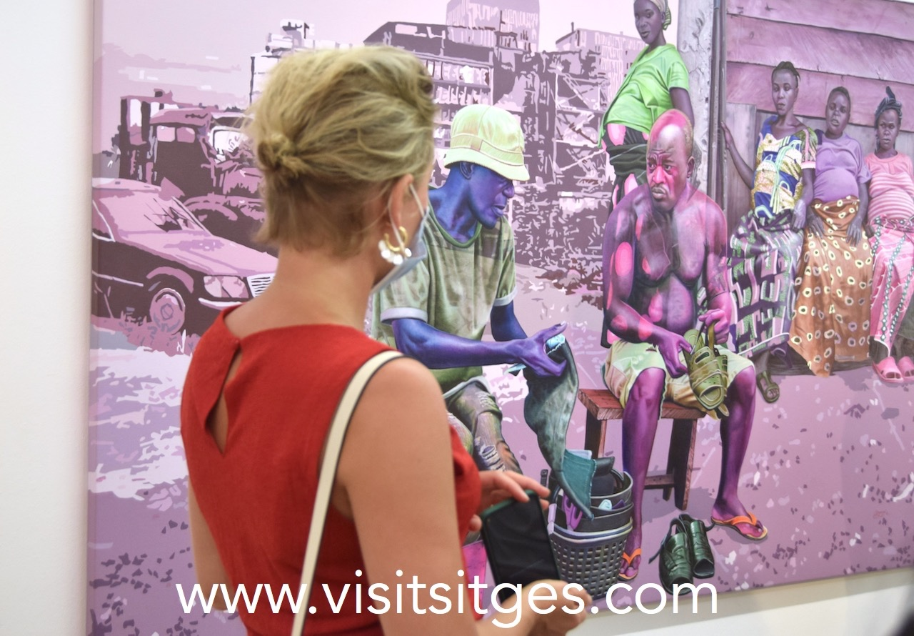 Everyday Heroes, inauguración de nueva exposición en la galería Out of Africa de Sitges