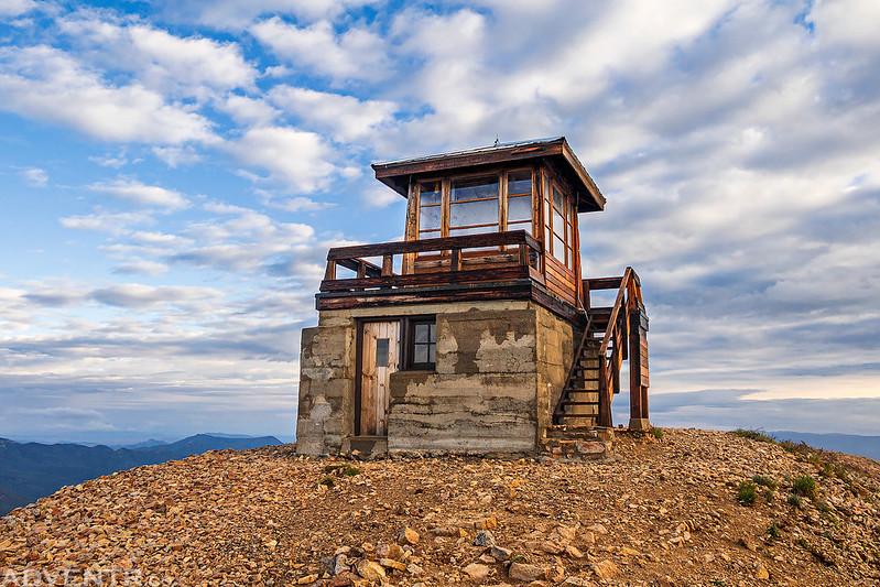 Hahns Peak Fire Lookout