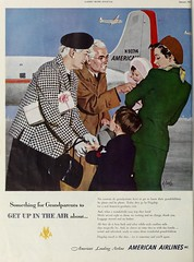 American Airlines advertisement, January 1951