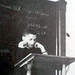 Joseph Ratzinger as a lecturer for dogmatic and fundamental theology in Freising, Germany, 1955