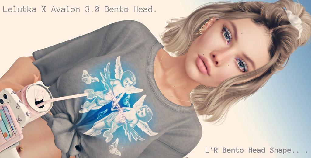 new Lelutka X Avalon 3.0 Bento Head Shape –