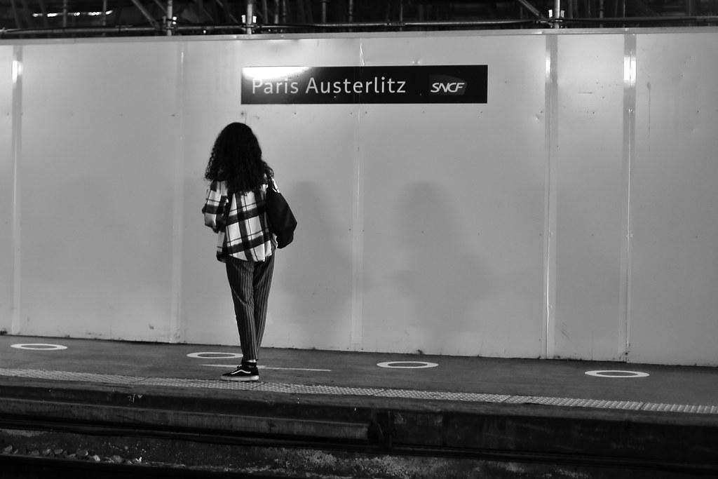 At Austerlitz station