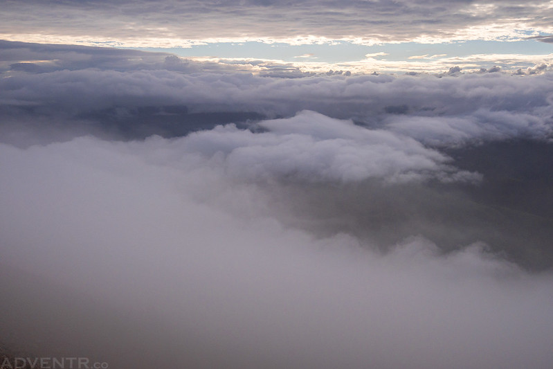Between The Clouds