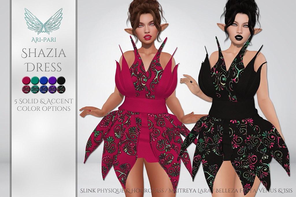 [Ari-Pari] Shazia Dress