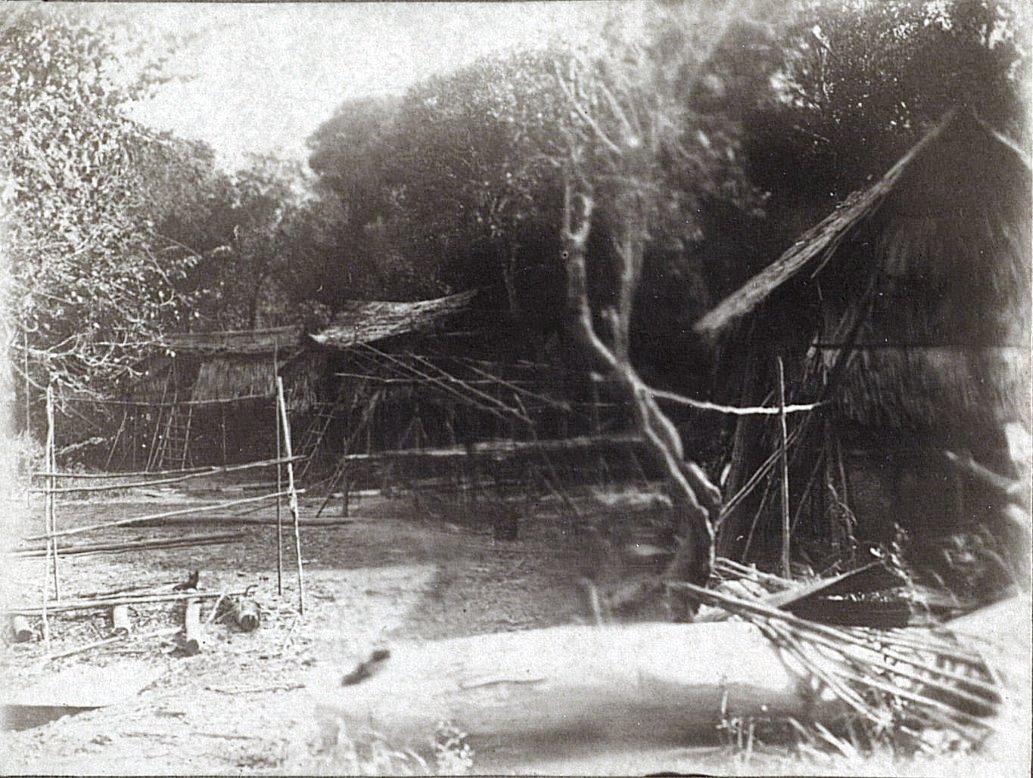 Вид деревни (кампонга). Суматра