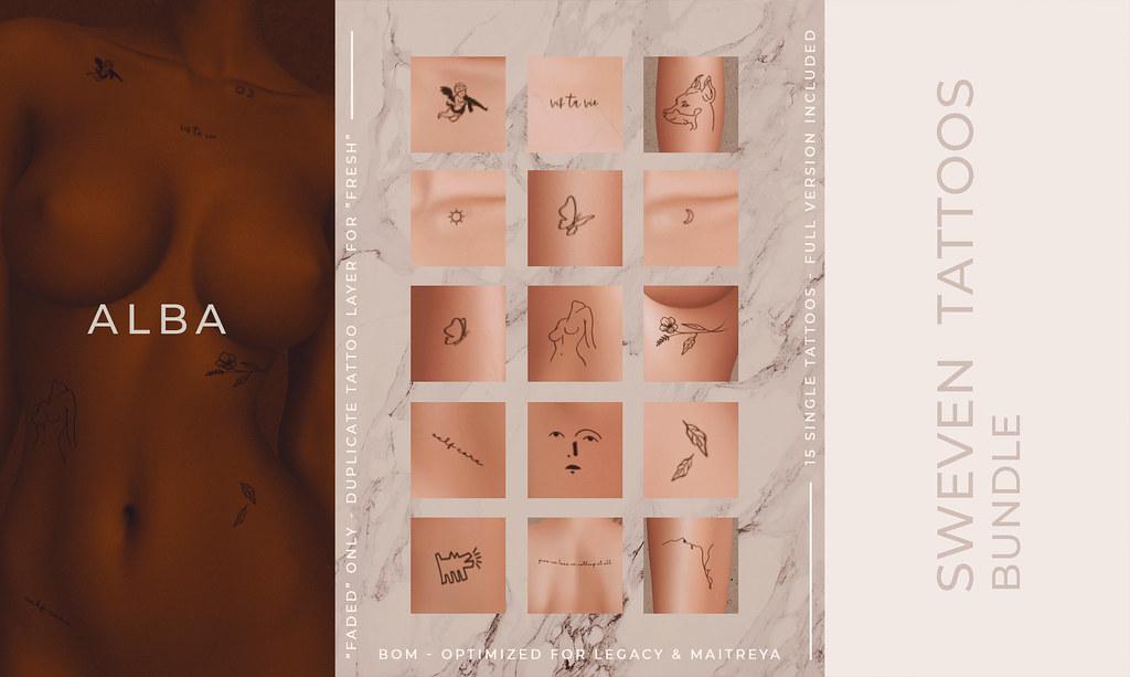 ALBA – Sweven Tattoos Bundle x The Grand Event