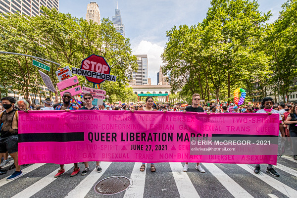 Third annual Queer Liberation March