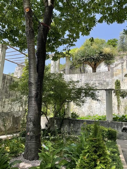 Minerva-Garten in Salerno