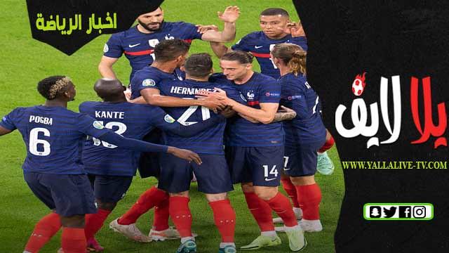 مباراة فرنسا وسويسرا اليوم 28-06-2021 في يورو 2020 والقنوات الناقلة