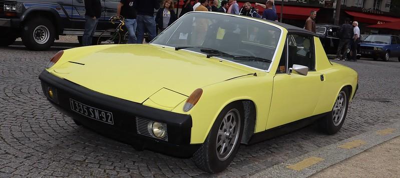 Porsche 914 / 4 cyl 2.0 litres - Paris Vauban Juin 2021 51274970533_21107010b4_c