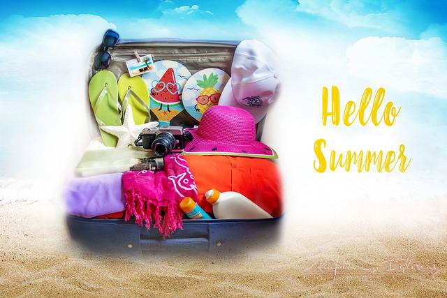 Hello Summer - Amparo García Iglesias