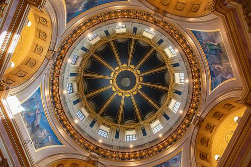 cruise minnesota state stpaul capitol mississippirivercruise building capital interior dome inside ornate 201908089l8a6826