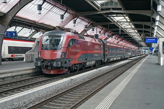 ÖBB 1116 202 Zürich Hbf