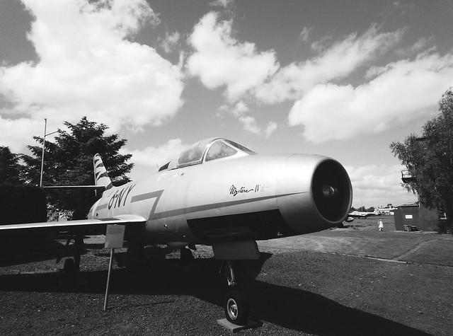 Dassault Mystere. taken on Paper Shoot  in 2021