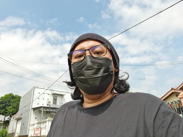 Selfie Galaxy M62 (1)