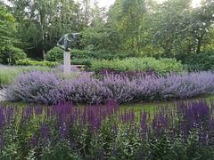 Fjärilsparken i Åkersberga med Rymdvolym av Bengt Amundin