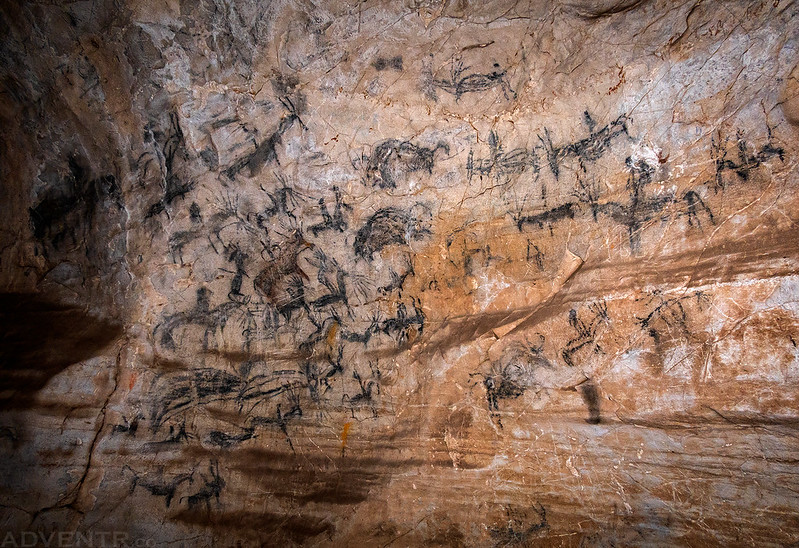 Sweetwater Ute Pictographs