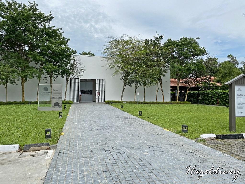 changi chapel museum-entrance singapore