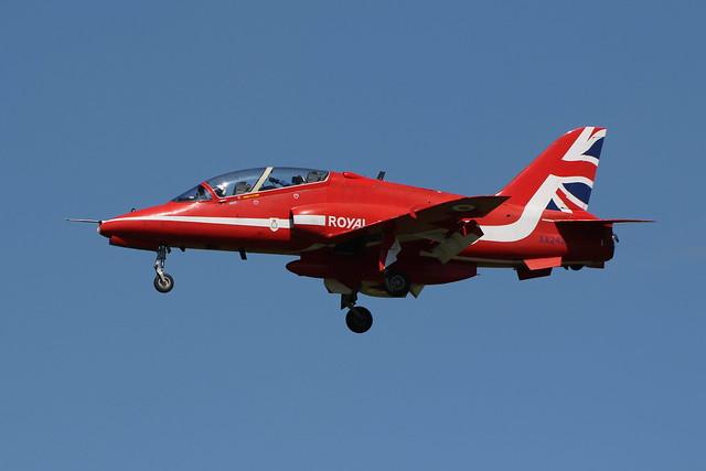 BAe Hawk T1 (XX242) -The Red Arrows
