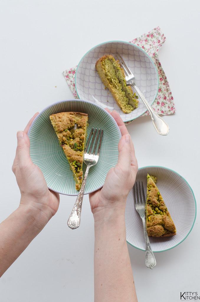 Sbriciolata al pistacchio