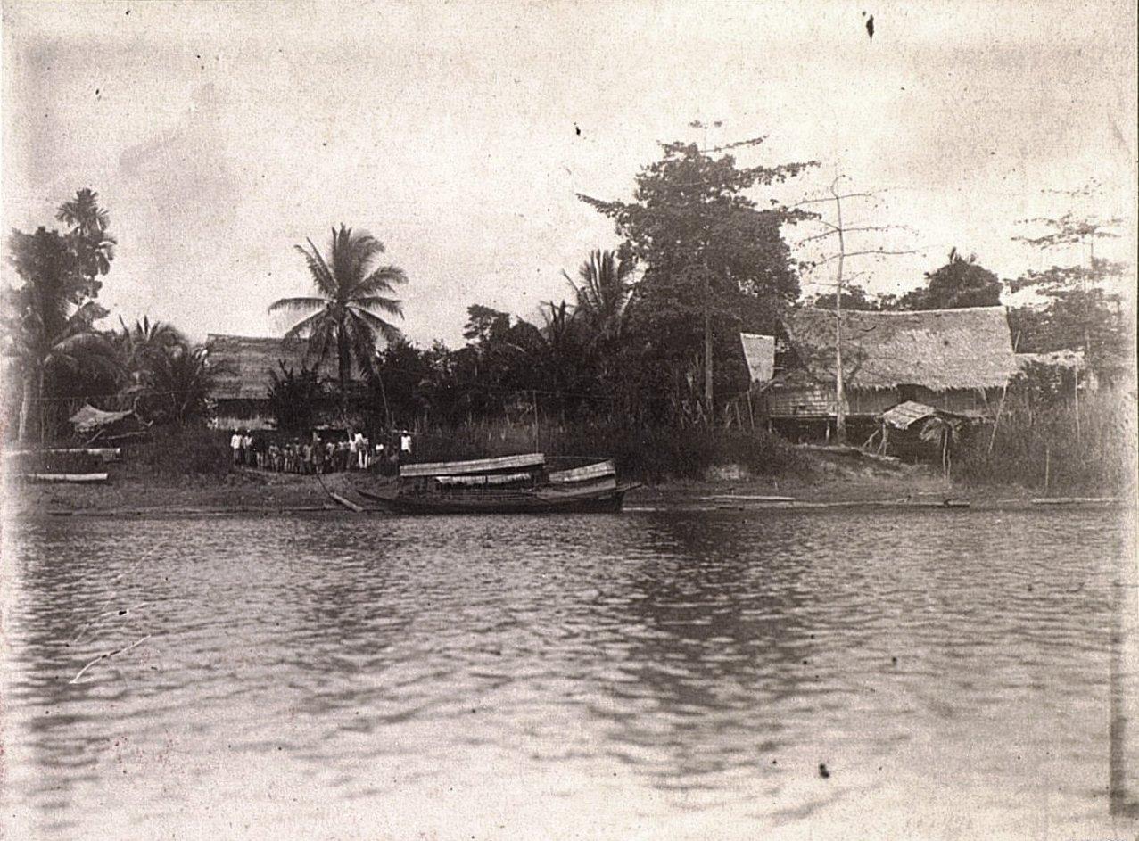 Кампонг.  Суматра