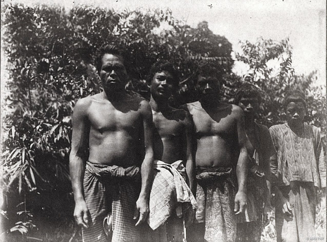 Группа мужчин. Батины. Суматра
