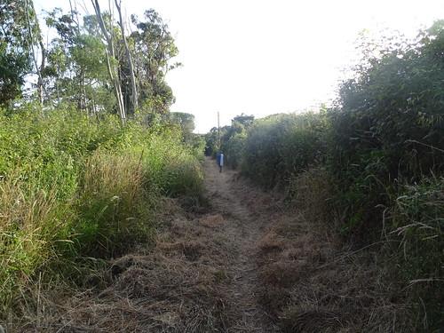 Le chemin de servitude de Villata après les travaux au retour