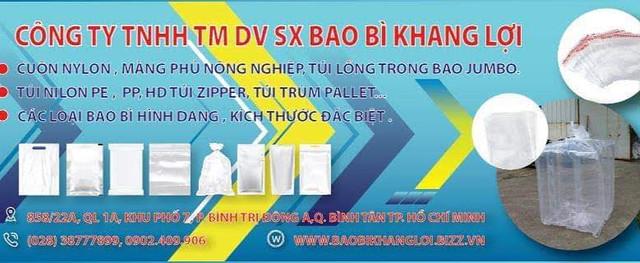 Công ty TNHH TM DV SX Bao bì Khang Lợi