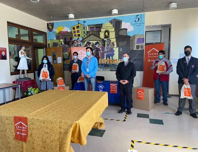 """CODELCO visita Colegio """"Don Bosco"""" de Calama"""