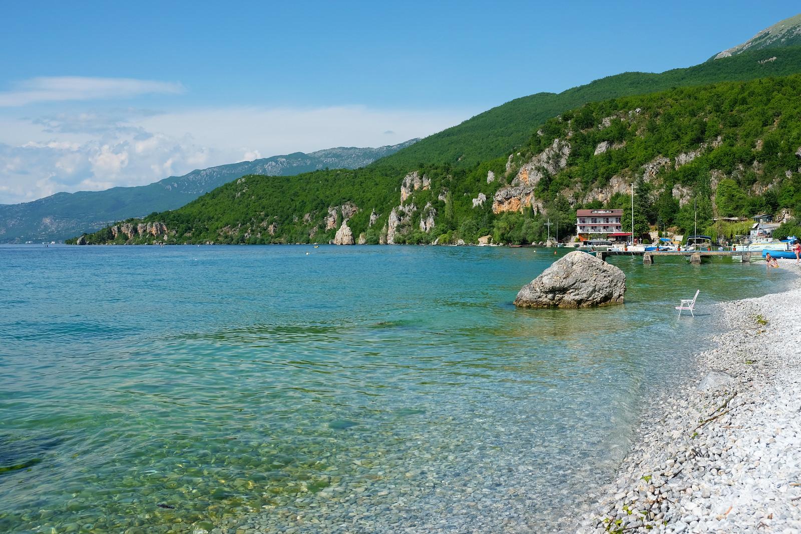 Trpejca beach, North Macedonia