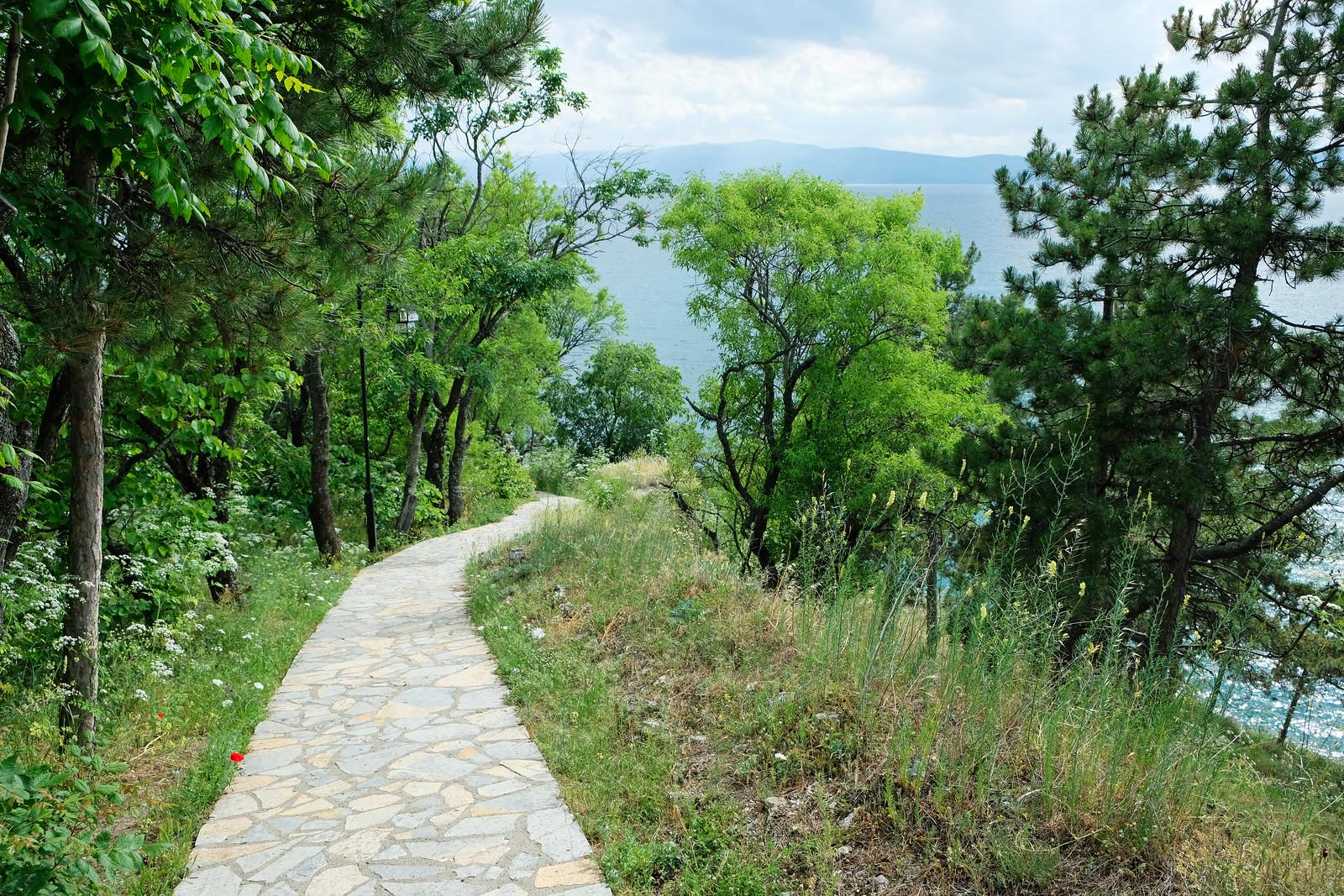 Old City Park, Ohrid, North Macedonia