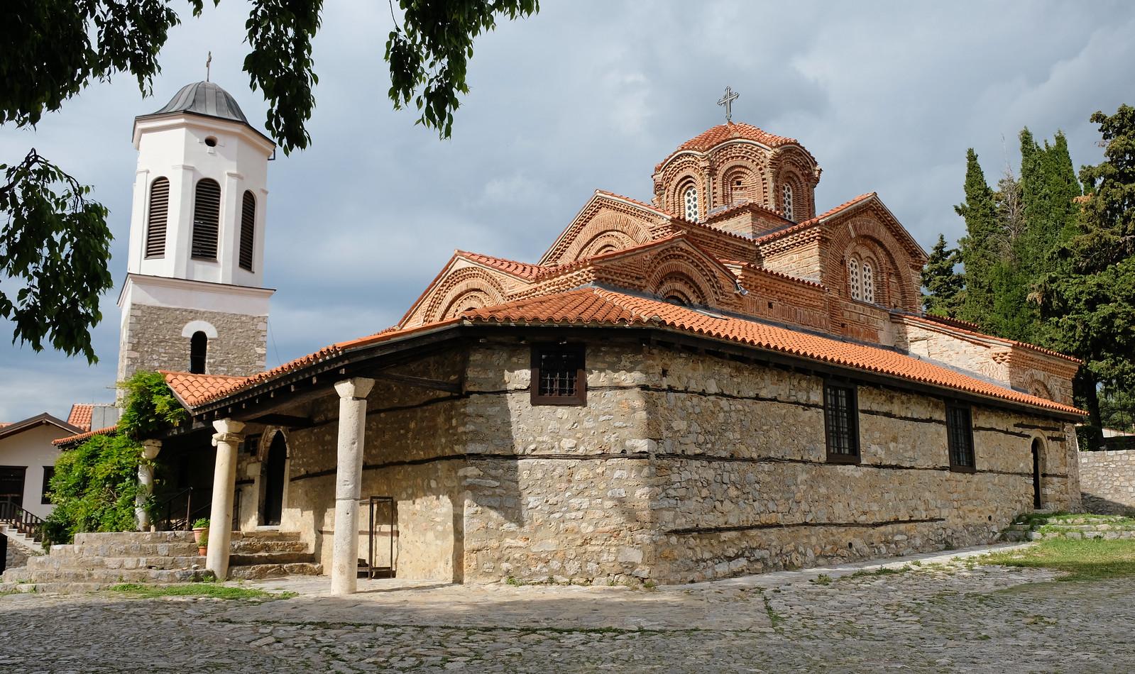 Mother of God Perybleptos church, Ohrid, North Macedonia