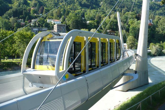 Lanovky nad Innsbruckem