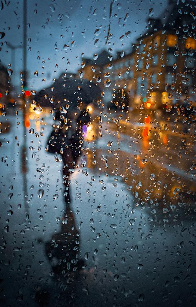 L'averse de pluie