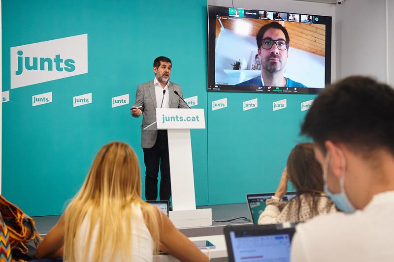Roda de premsa de Jordi Sànchez (28/6/21)