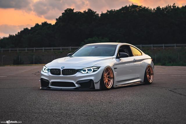 BMW F82 M4 AG Wheels F521 Brushed Copper