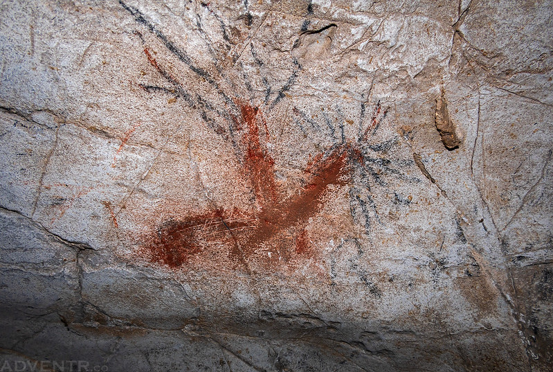 Red Pictograph