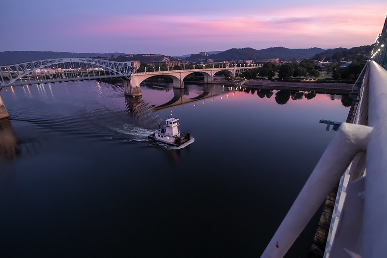 Sunrise, Tennessee River, Chattanooga, Tennessee 3