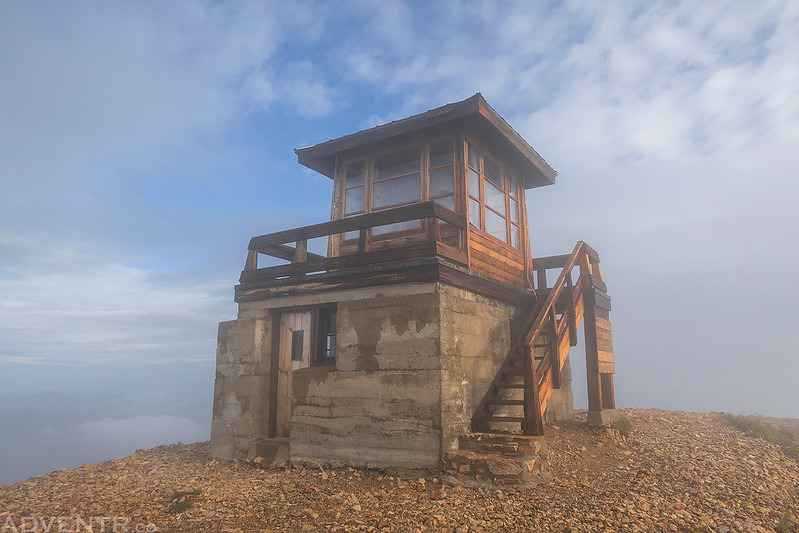 Fire Lookout In the Clouds