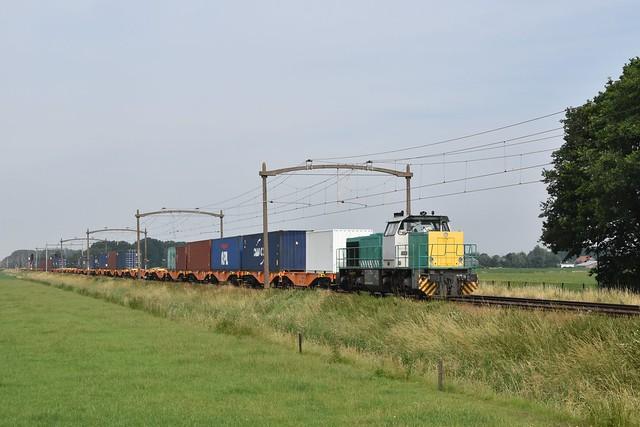IRP 2201 met Port-shuttle te Hulten (27-6-2021)
